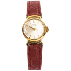 Girard Perregaux Ladies Yellow Gold Wristwatch, 1950s
