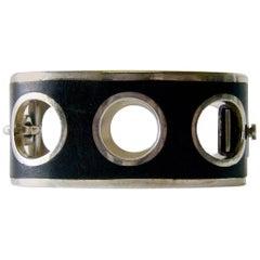 Jose Maria Puig Doria Sterling Silver Spanish Modernist Bracelet