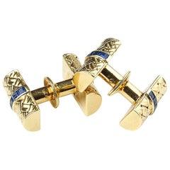 Van Cleef & Arpels Sapphire Cufflinks
