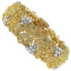 Boucheron Gold and Diamond Bracelet