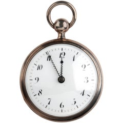 Jubilé Chappuis Paris Silver Quarter Repeater Pocket Watch, circa 1820
