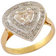 Emma Chapman Diamond Yellow Gold Ring