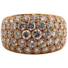 Bvlgari, Diamond Gold Dress Ring