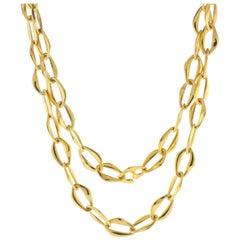 Tiffany & Co. Elsa Peretti Aegean Toggle Necklace