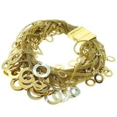 Woven Mesh Multistrand Bracelet