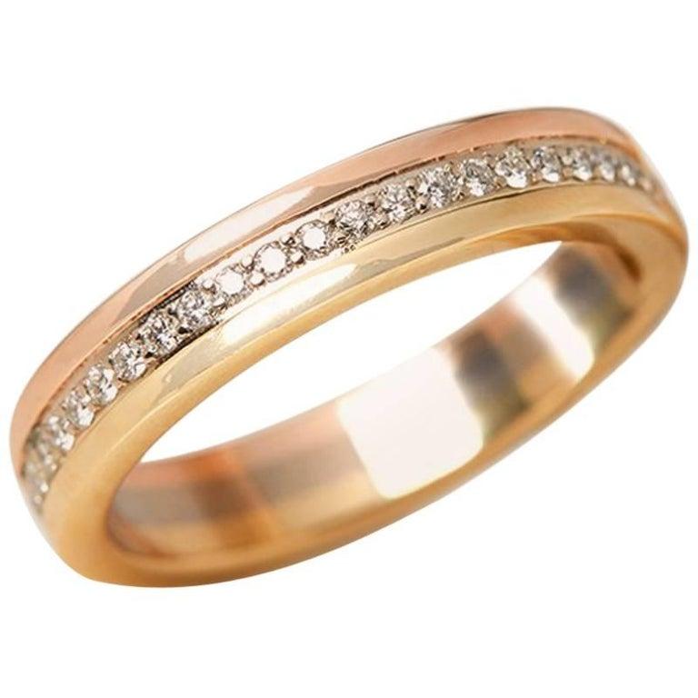 Cartier Diamond Trinity Eternity Ring