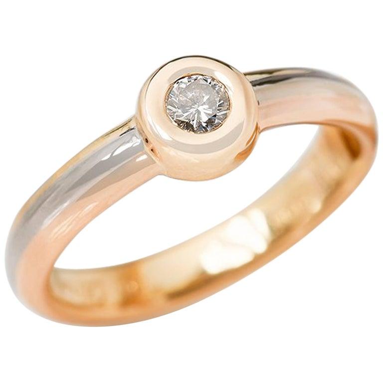 Cartier Trinity Diamond Ring