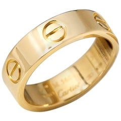 Cartier Gold Love Ring For Sale At 1stdibs