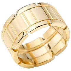 Cartier Yellow Gold Tank Francaise Ring