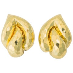 Elegant Henry Dunay Faceted Earrings
