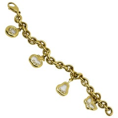 Chopard Happy Diamonds Charm Bracelet