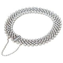 Asprey Diamond Gold Bracelet