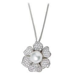 Picchiotti South Sea Pearl Diamond Necklace