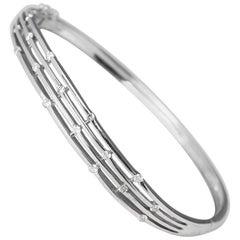 Diamond White Gold Bracelet