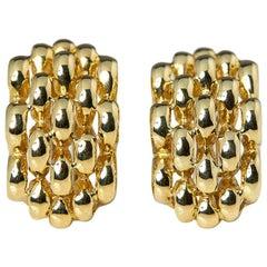 David Morris Gold Earrings