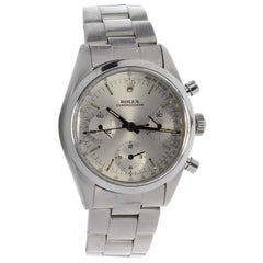 Rolex Stainless Steel Pre Daytona Chronograph wristwatch Ref 6238, circa 1964