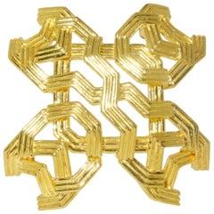 1960 Era Tiffany & Co. Gold Brooch