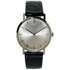 Patek Philippe White Gold Ultra Thin New Old Stock Manual Wristwatch