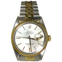 Rolex Yellow Gold stainless steel Oyster Perpetual Datejust Wristwatch
