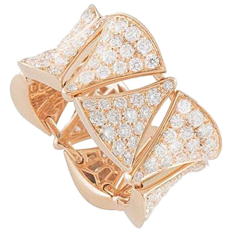 bulgari divau0027s dream diamond rose gold