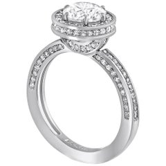 GIA Certified 1.2 Carat D Color Internally Flawless Diamond Engagement Ring