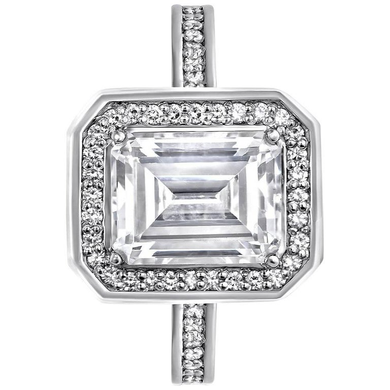 Alex Soldier GIA Certified 1.02 Carat FSI1 Diamond Gold Engagement Ring