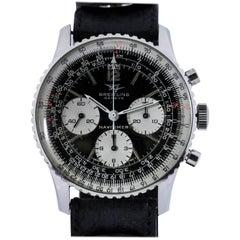 Breitling Stainless Steel Navitimer Ref 806 Wristwatch, circa 1971