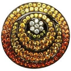 14 Karat Circle Ring