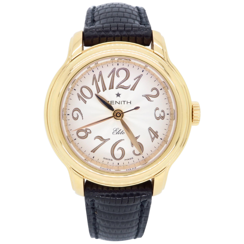 Zenith Baby Star Elite Ladies Rose Gold Automatic Wristwatch