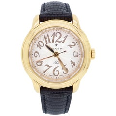 Zenith Baby Star Elite Ladies Rose Gold Automatic Wristwatch