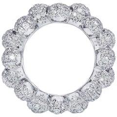 Towe Norlen Celeste 3.98 Carat Contemporary Diamond Cocktail Ring
