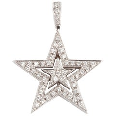 Theo Fennell Diamond Star Pendant