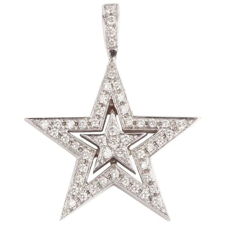 Theo Fennell Diamond Star Pendant