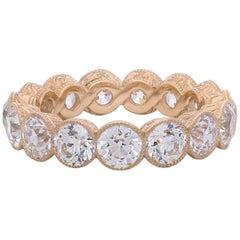 Hancocks Old European Cut Diamond Full Set Eternity Ring
