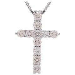 Diamond Cross Necklace