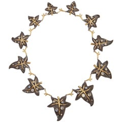 Marilyn Cooperman Ivy Necklace with Moonstones