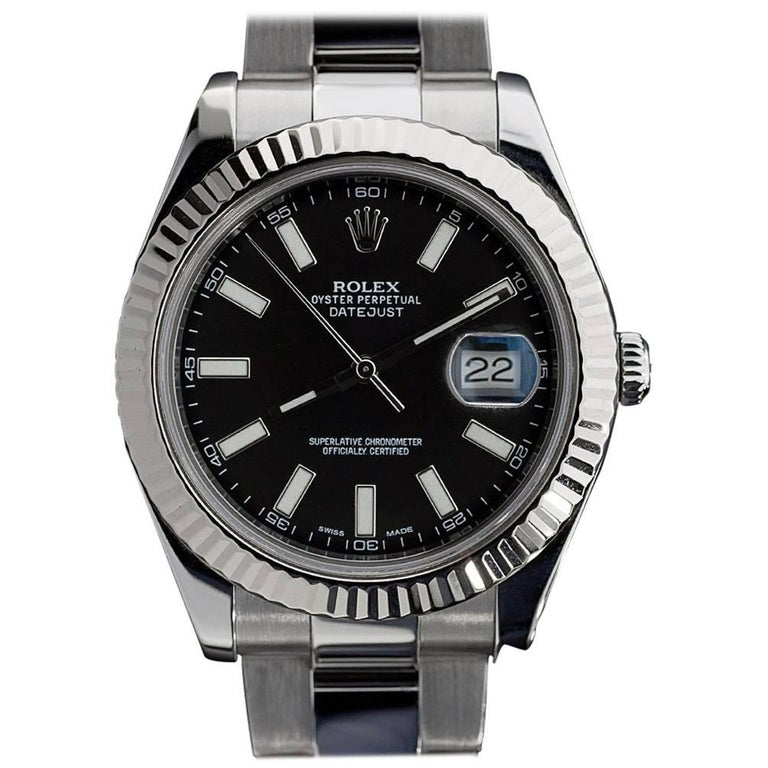 Rolex Datejust Ii Black