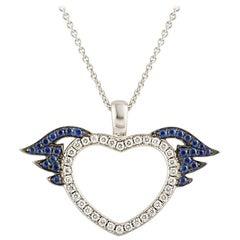 Theo Fennell Diamond Heart Pendant