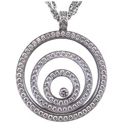 Chopard Happy Spirit Diamond Pendant Necklace
