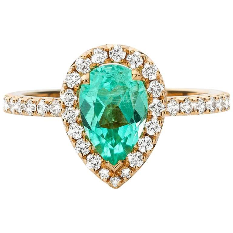 style antique engagement karat spearmint diamond filigree and deco tourmaline ring in white large rings collections green gold