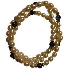 Pearl Sapphire Bracelets