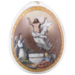 1890s Russian Porcelain Easter Egg