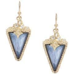Armenta 'Old World' Sapphire and Quartz Drop Earrings