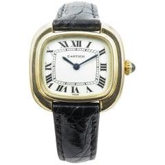 Cartier Ladies yellow Gold Mechanical Wristwatch, circa 1975
