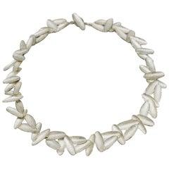 Kayo Saito Silver Fragment Eternity Choker Necklace