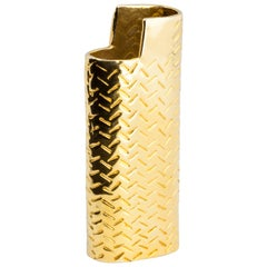 JvdF Yellow Gold Lighter Case