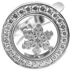 Chopard Happy Diamond Snowflake White Gold Ring