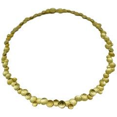 Kayo Saito Gold Fragment Sun Necklace
