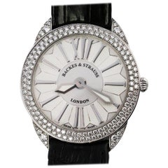 Backes & Strauss White Gold Diamond Franck Muller Movement