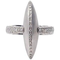 Palmiero Diamond White Gold Ring